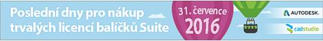 Konec trval�ch licenc� Autodesk Design Suites