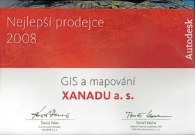 Top GIS dealer 2008