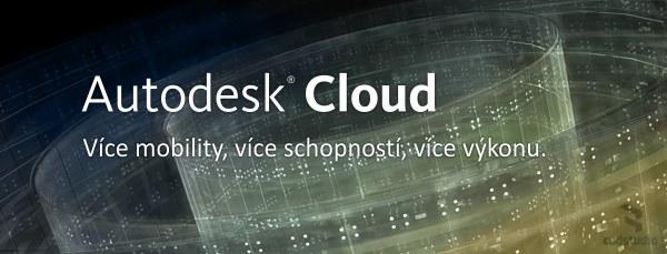 Autodesk Cloud - web služby k CAD aplikacím