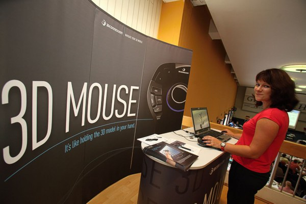 3D mouse - CADforum 2012