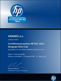 HP DEC - Xanadu
