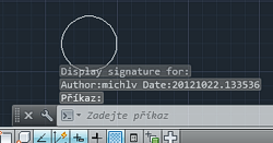DWGOsign - sign changes of drawing objects