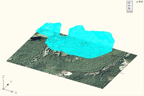 Surface in 3D