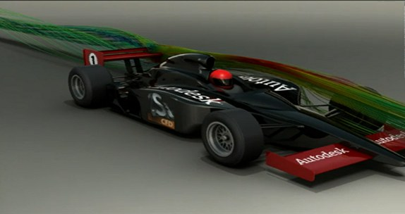 F1 - Simulation CFD
