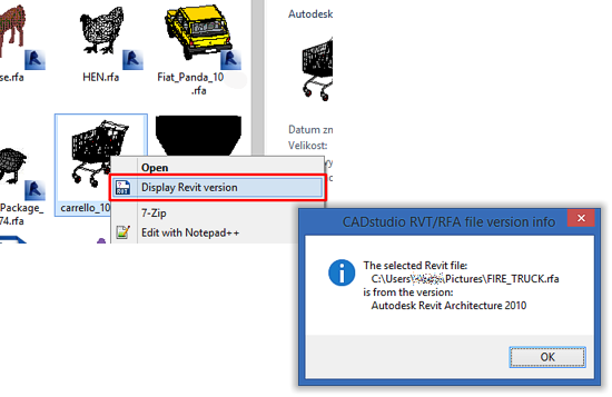 CAD Forum - How to find the Revit version used to save a RFA/RVT file?