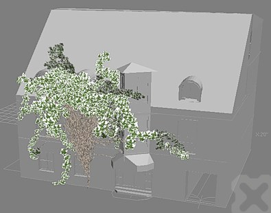 CAD Forum - Creeping plants for 3D objects