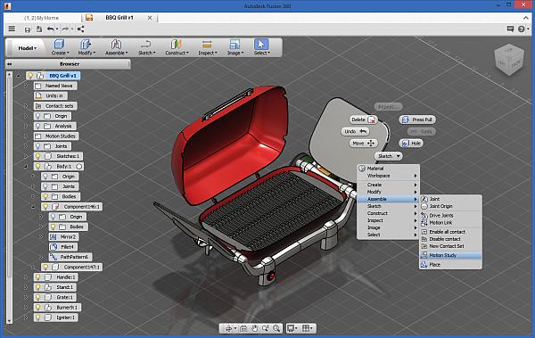 Autodesk Fusion 360 - cloudový 3D CAD/CAM