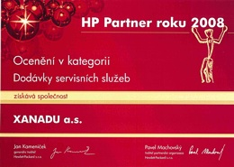 HP Partner 2008 - servis