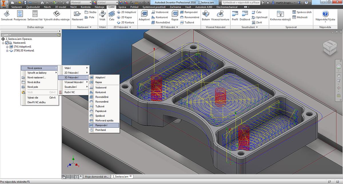 Autodesk Inventor CAM (HSM) - CAD Studio