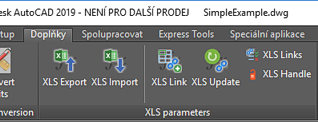 CAD Studio - XLSparam -linking DWG parameters with Excel tables